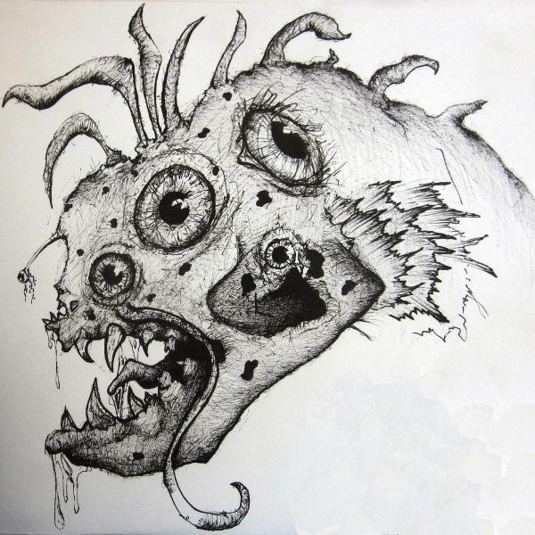 Eight Eyed Eel Sketch