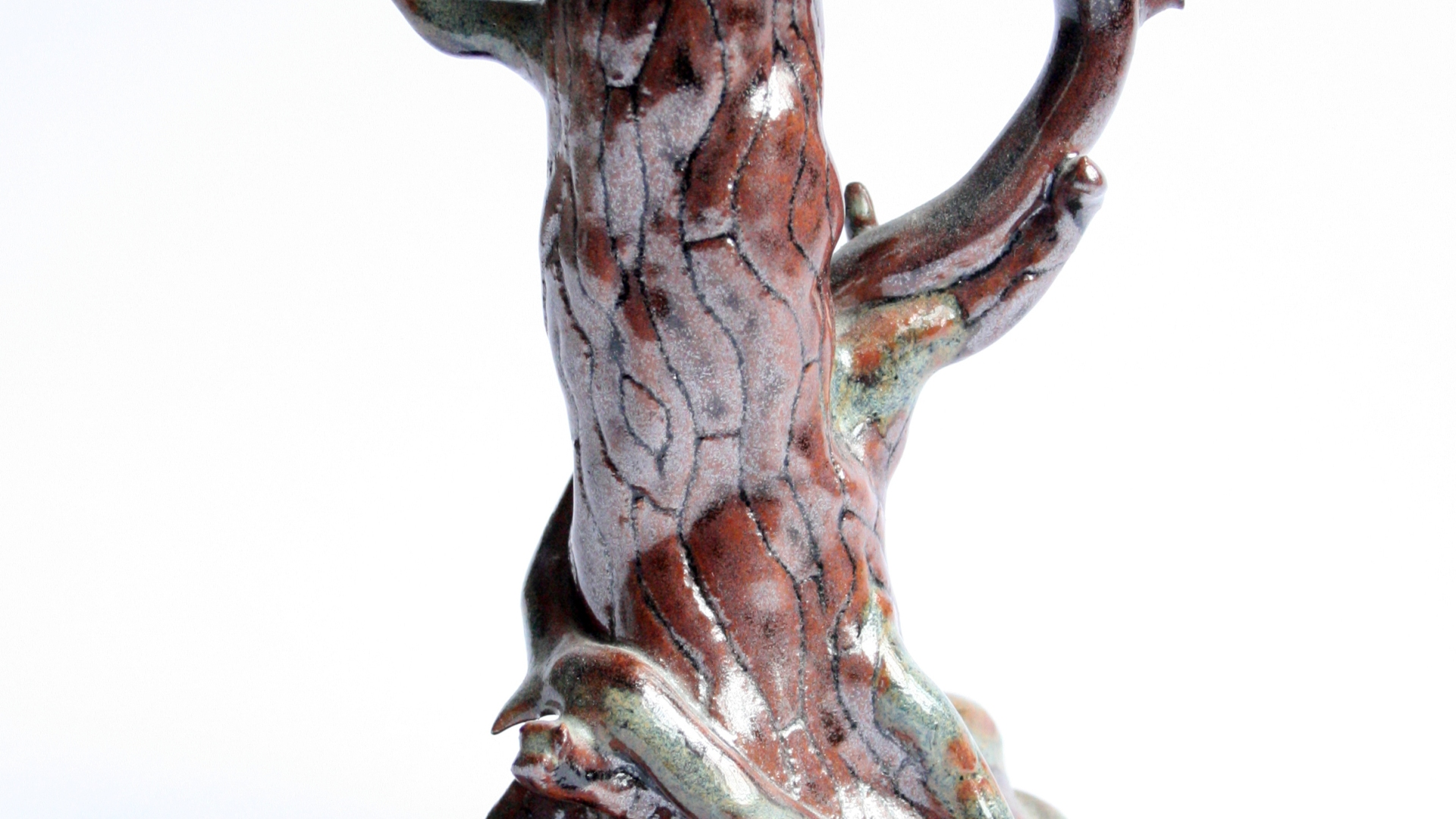 Dragon on Tree Sculpture