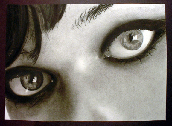 Mila Jovavich Eyes