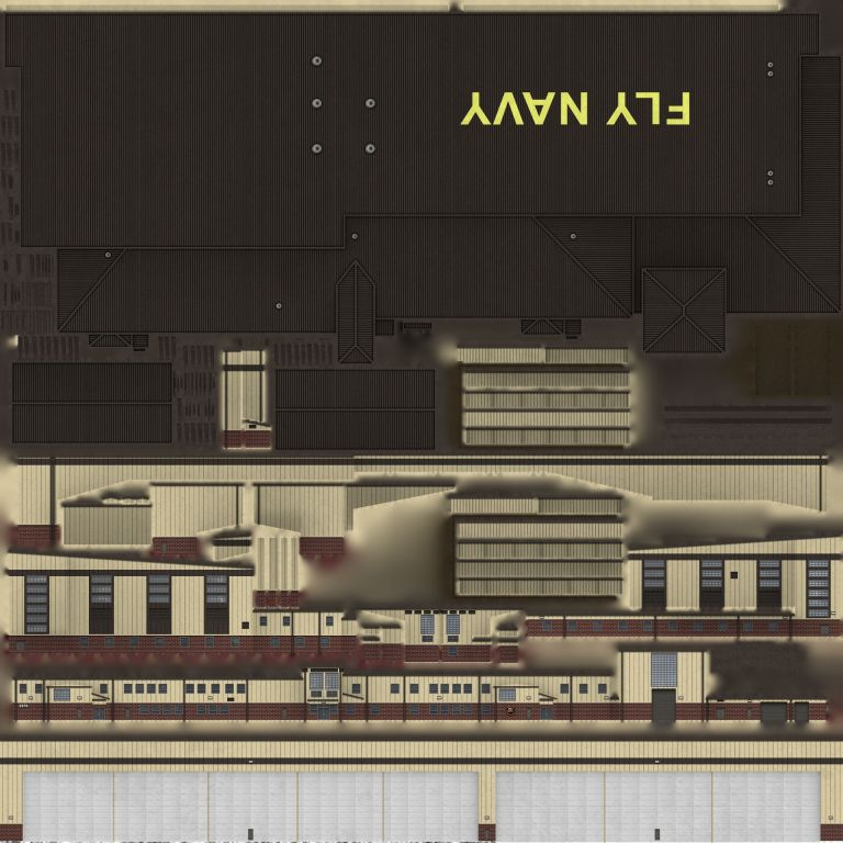Hangar 3370 Day Texture